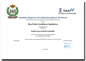 Titulo Experto gestion contable